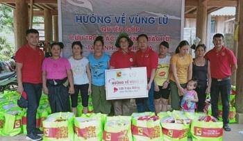 Central Group Việt Nam trao tặng hơn 100 phần quà hỗ trợ đồng bào vùng lũ ở Thanh Hóa