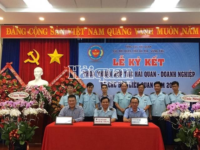 Hải quan Bà Rịa – Vũng Tàu: Ký kết thỏa thuận hợp tác với 8 doanh nghiệp