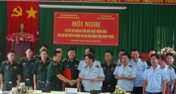 Hải quan – Biên phòng Bình Phước ký kết quy chế phối hợp công tác
