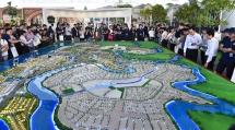 20000 luot khach toi tham quan novaland expo