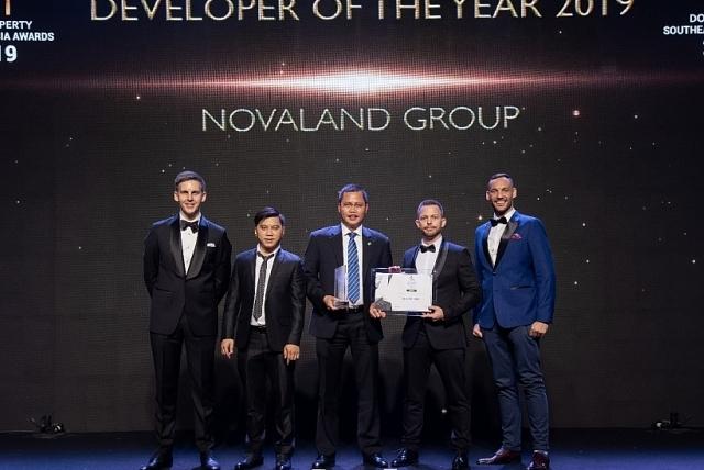 Novaland đạt danh hiệu nhà phát triển bất động sản tốt nhất Đông Nam Á