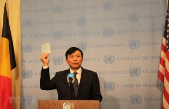 Việt Nam bắt đầu các hoạt động chính thức trên cương vị Chủ tịch Hội đồng Bảo an