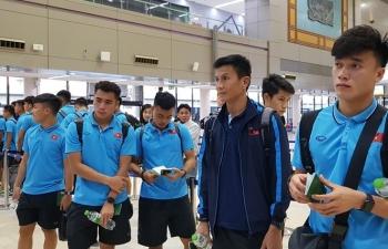 U23 Việt Nam đổ bộ Buriram, sẵn sàng cho giải U23 châu Á 2020