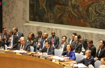 Việt Nam tổ chức sự kiện trong tháng đầu tiên làm Chủ tịch Hội đồng Bảo an Liên Hợp quốc