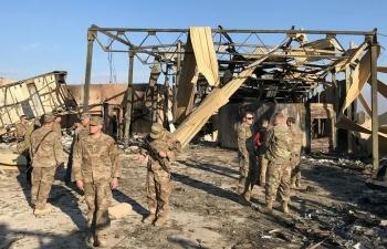 Lính Mỹ và Iraq sơ tán gần 8 tiếng trước cuộc tấn công của Iran