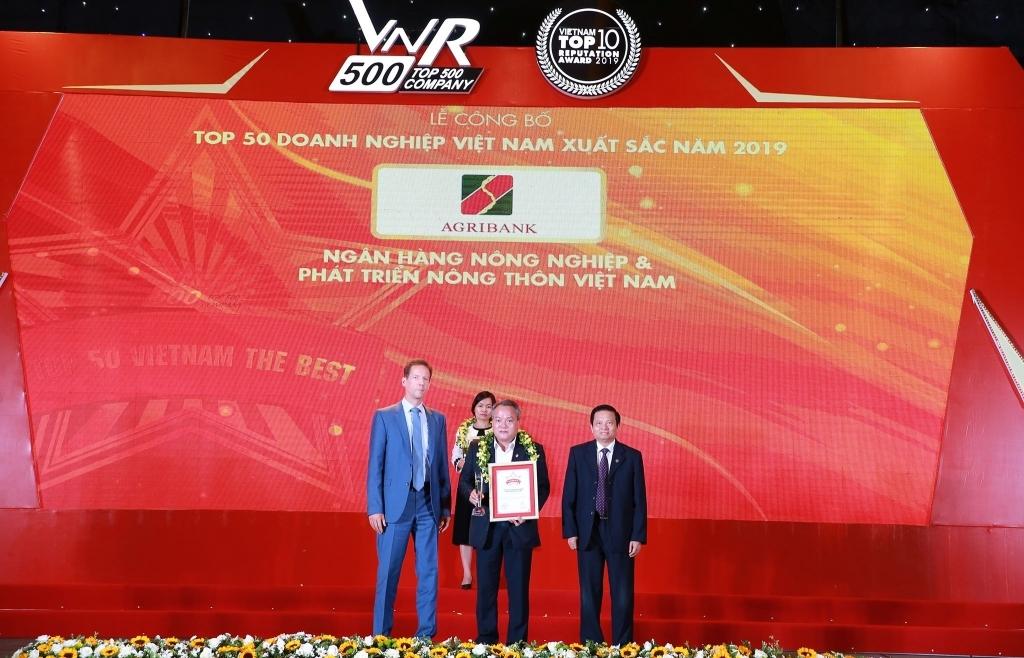 Agribank - Top 10 Doanh nghiệp lớn nhất Việt Nam năm 2019