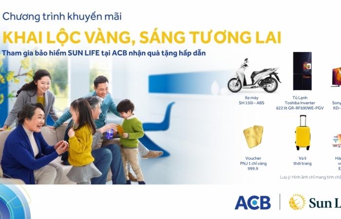 Chương trình khuyến mại cùng hàng nghìn quà tặng hấp dẫn từ Sun Life Việt Nam