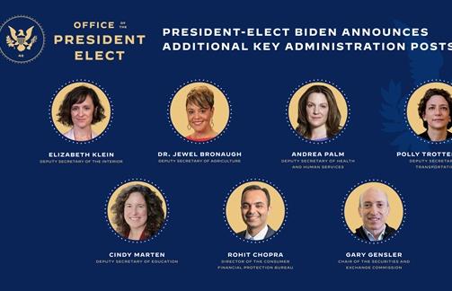 Tổng thống đắc cử Mỹ hoàn thiện bộ máy nội các trước khi nhậm chức