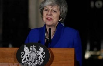 Hạ viện Anh bác kiến nghị của bà May về Brexit: Tín hiệu báo nguy