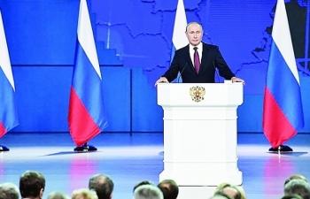 Có gì trong thông điệp liên bang 2019 của Tổng thống Nga Putin
