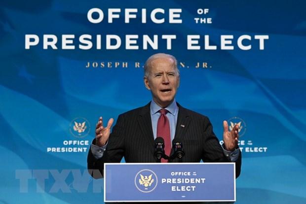 Cach ong Joe Biden khoi phuc vi the lanh dao toan cau cua My hinh anh 1