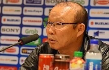HLV Park Hang Seo thừa nhận U23 Việt Nam thắng may mắn