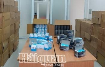 Hải quan Tây Ninh bắt giữ gần 140.000 khẩu trang xuất lậu qua Campuchia