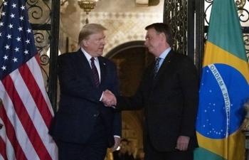 Quan chức Brazil từng gặp Tổng thống Mỹ đã mắc COVID-19