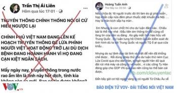 Nhận diện chiêu trò tung tin giả về dịch Covid-19 tại Việt Nam