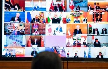 """G20 cam kết """"làm mọi thứ"""" giúp thế giới vượt qua đại dịch Covid-19"""