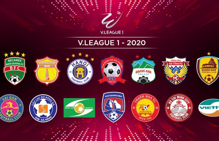 6 doi bong ung ho phuong an de v league 2020 da tap trung o mien bac