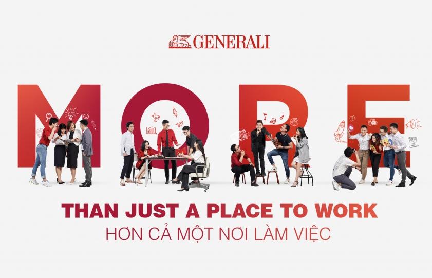 """Chiến lược nhân sự """"Hơn cả một nơi làm việc"""" của Generali Việt Nam"""