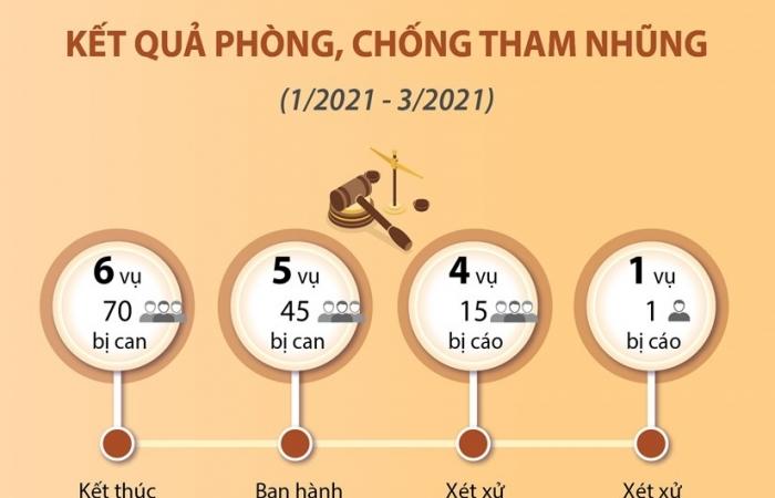 Infographics: Kết quả phòng, chống tham nhũng từ sau Phiên họp thứ 19