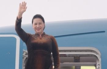 Chủ tịch Quốc hội kết thúc tốt đẹp chuyến công tác nước ngoài