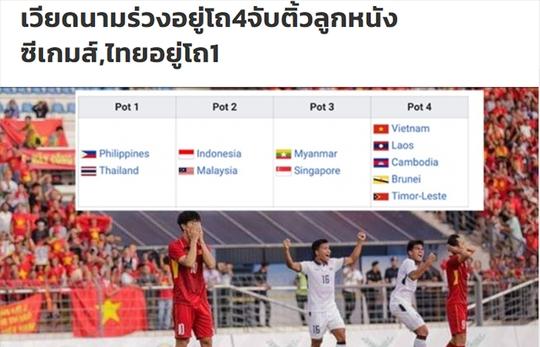 Báo Thái sợ khi U22 Việt Nam rơi vào nhánh lót đường ở SEA Games 2019
