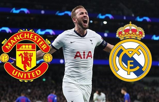 Harry Kane phù hợp với chiến thuật của MU hay Real Madrid?