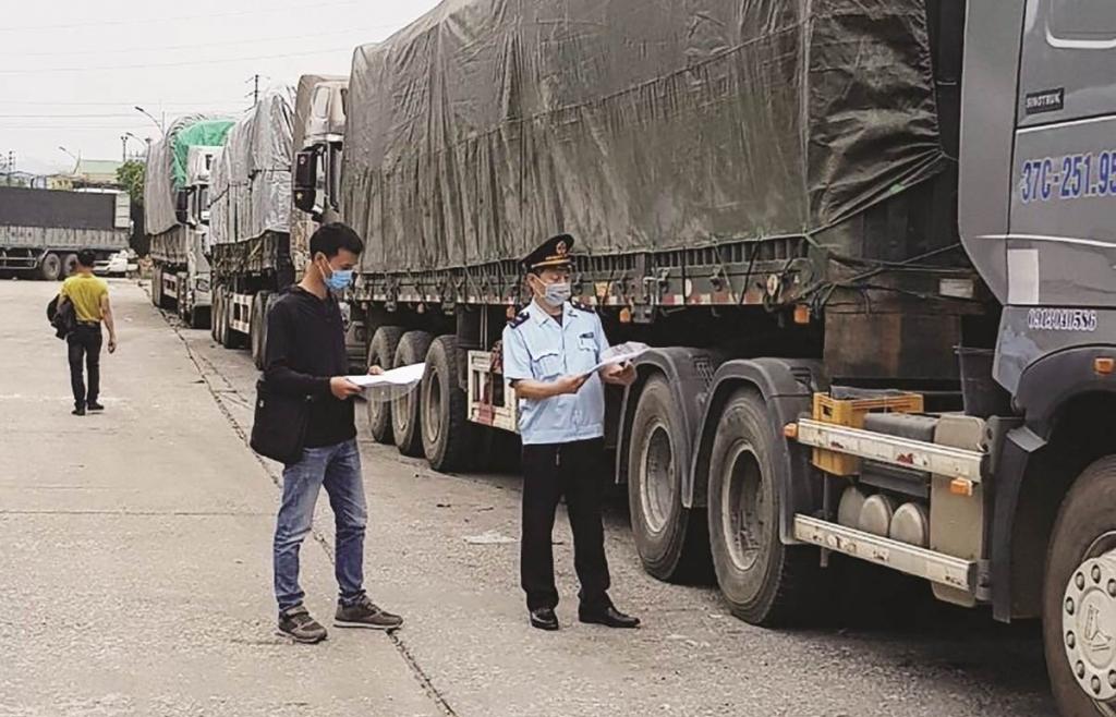 Đồng ý cho xe Trung Quốc sang cửa khẩu Chi Ma sang tải, bốc xếp hàng hóa