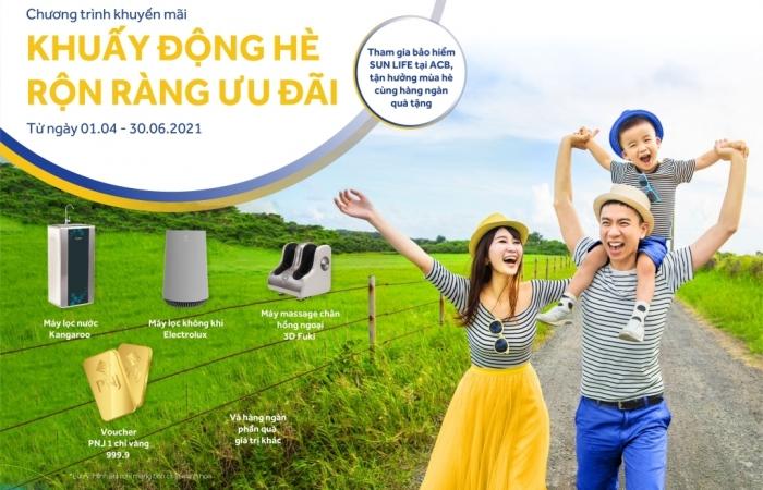 """Sun life Việt Nam với chương trình khuyến mại """"Khuấy động hè rộn ràng ưu đãi"""""""