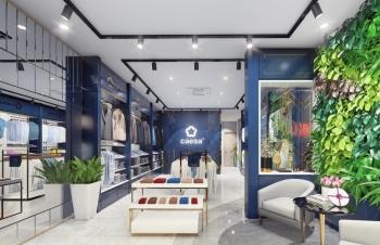 Sẵn sàng khai trương showroom thời trang Caesa tại Thanh Hoá