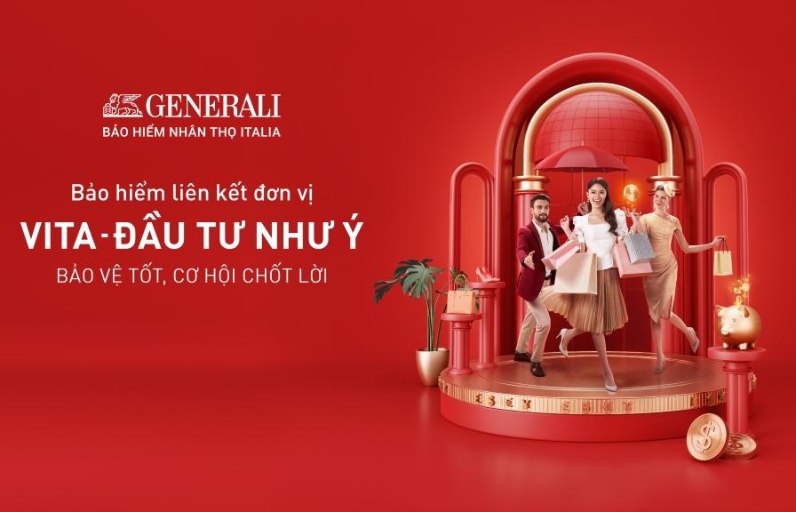 """Generali ra mắt sản phẩm đặc biệt """"VITA – Đầu tư như ý"""""""