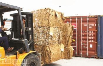 Cơ bản kiểm soát tình hình nhập khẩu phế liệu
