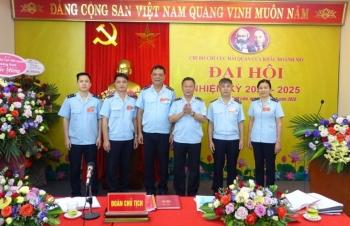 Chi bộ Chi cục Hải quan CK Hoành Mô tổ chức Đại hội Chi bộ nhiệm kỳ 2020-2025