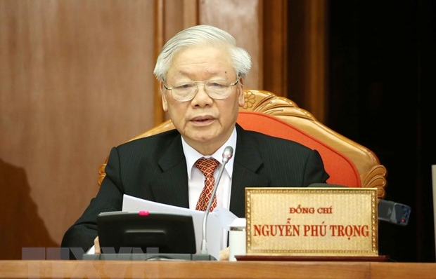 thong bao hoi nghi lan thu 12 ban chap hanh trung uong dang khoa xii