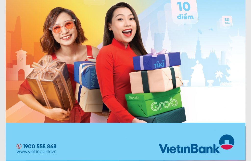 Mừng Ngày Thống nhất, nhận quà cực chất cùng VietinBank Loyalty
