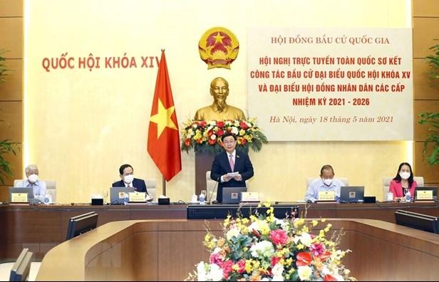 Chủ tịch Quốc hội chủ trì Hội nghị trực tuyến về công tác bầu cử