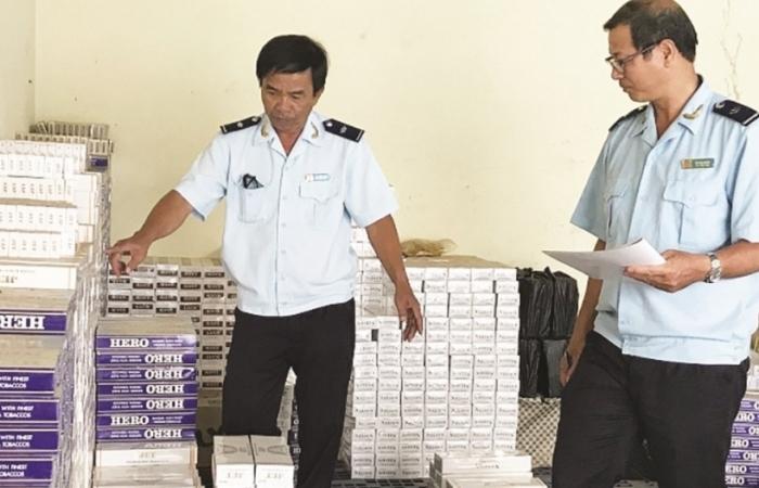 Hải quan Thường Phước bắt vụ đai vác thuốc lá lậu qua biên giới
