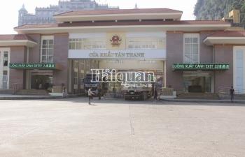 Vải thiều tấp nập xuất khẩu  qua cửa khẩu Tân Thanh