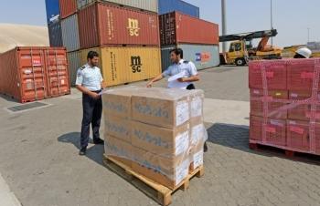 Hải quan Quata quy định sử dụng tấm pallet trong vận chuyển hàng hóa