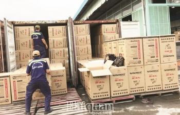 Hàng nhập khẩu giả nhãn mác Việt Nam:  Chủ nhãn hàng bị làm giả có liên quan?