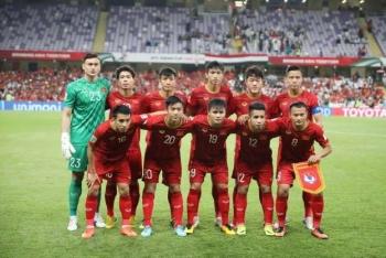 Việt Nam tụt 1 bậc trên Bảng xếp hạng FIFA tháng 7/2019