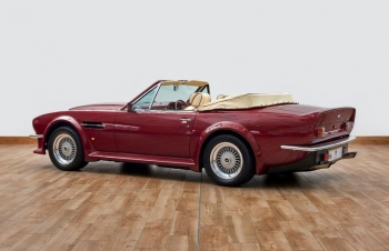 xe co aston martin v8 volante 1988 cua david beckham duoc rao ban