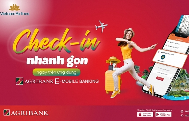check in truc tuyen trong mot not nhac voi agribank e mobile banking