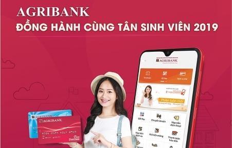 Agribank đồng hành cùng Tân sinh viên 2019