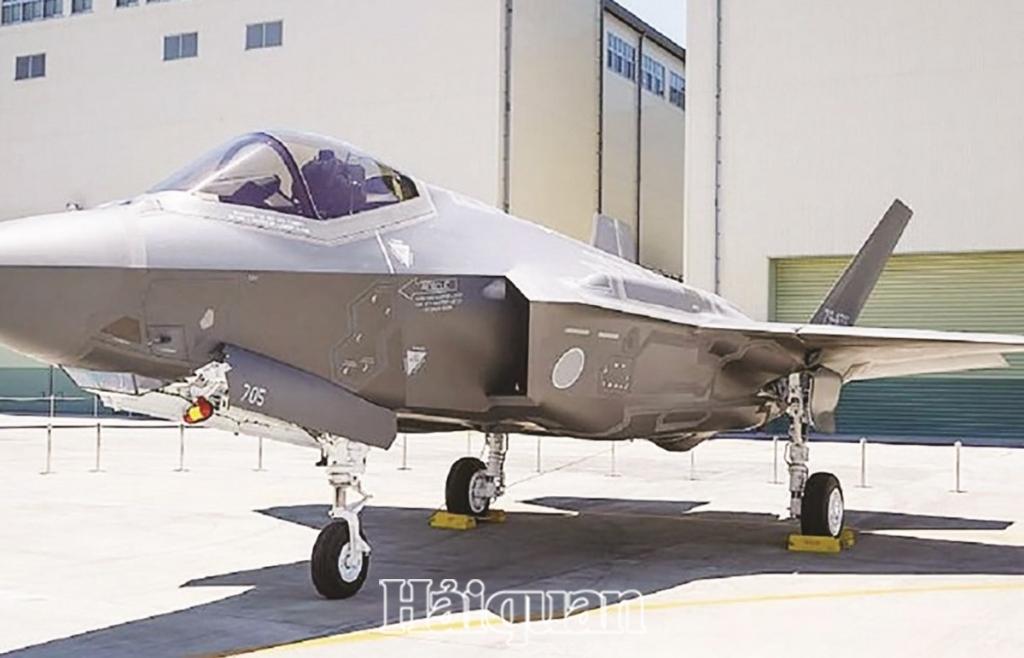 Nhật Bản phát triển đội máy bay chiến đấu mới
