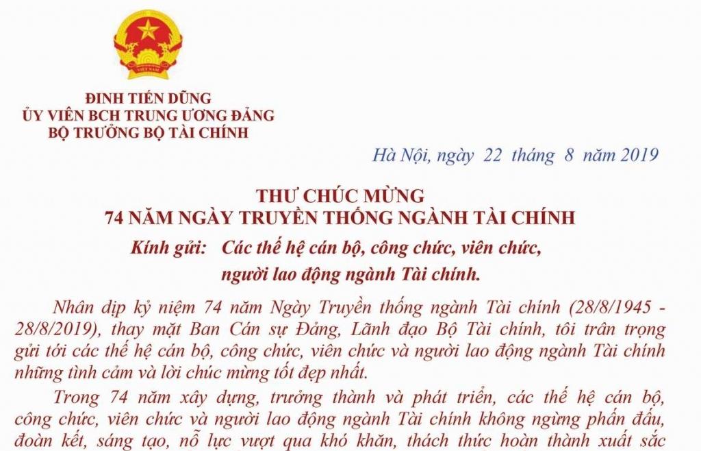 tai co cau ngan sach va no cong thanh tuu lon cua nganh tai chinh