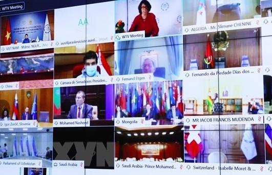 Chủ tịch Quốc hội dự Hội nghị các Chủ tịch Quốc hội Thế giới lần thứ 5