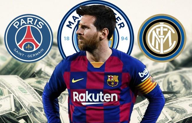 Ba bến đỗ tiềm năng của siêu sao Lionel Messi