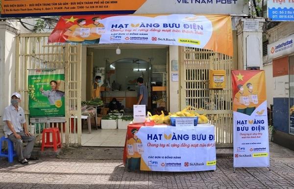 """""""Hạt vàng Bưu điện"""" tặng hơn 700 tấn gạo, chung tay cùng cộng đồng vượt qua dịch bệnh"""
