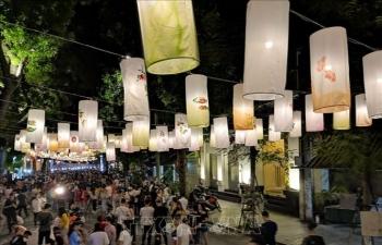 Rực rỡ Tết Trung Thu truyền thống trên phố Bích hoạ của Thủ đô