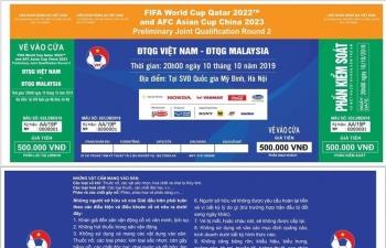 Cách mua vé trận ĐT Việt Nam- ĐT Malaysia ở Vòng loại World Cup 2022